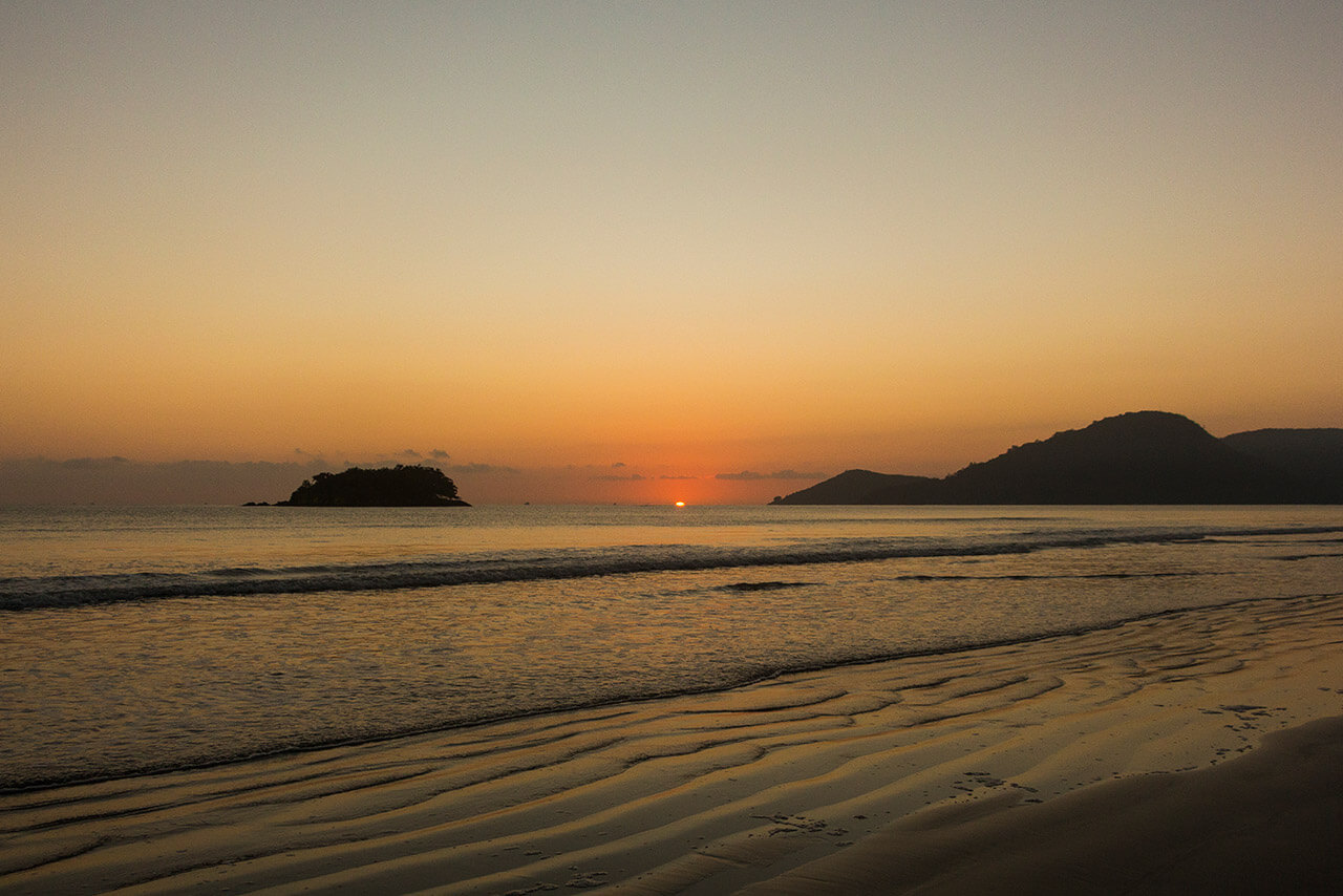 Praia Central e Ilha das Cabras Balneário Camboriú